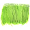 Goose Feather Strung 5.5-7in Value 65g 2Yards Lime Green